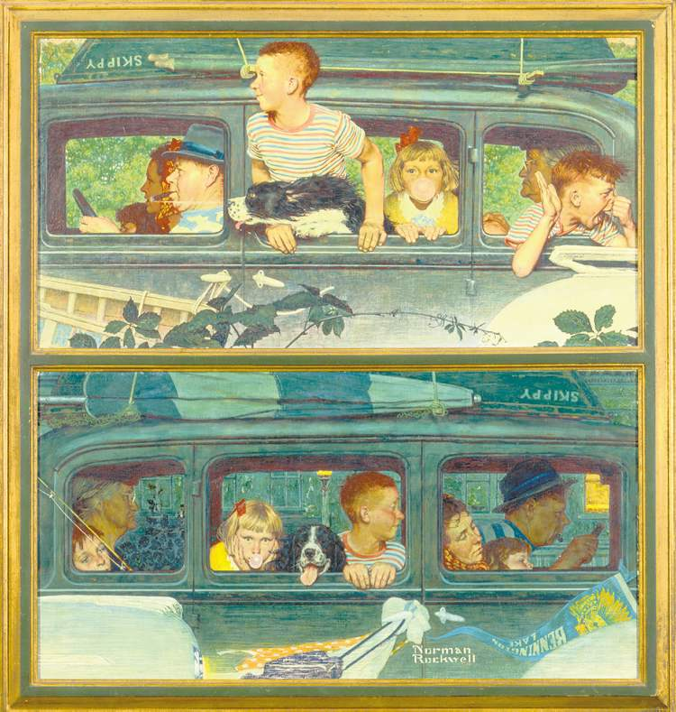 all images from the permanent collection of Norman Rockwell Museum