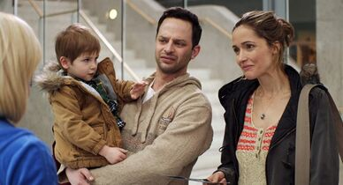 In this image released by Radius-TWC, Rose Byrne, right, and Nick Kroll appear in a scene from
