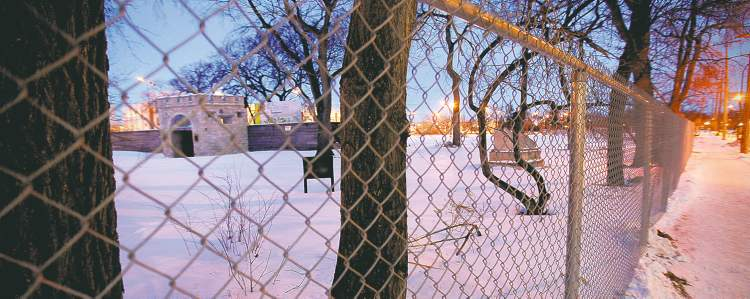 The Friends of Upper Fort Garry hope to use the southwest corner of the historic site for a temporary surface parking lot.
