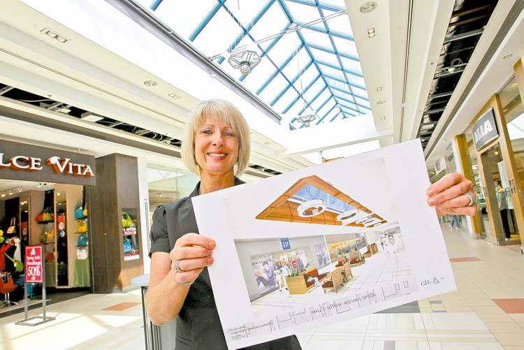 St. Vital Centre GM Cheryl Mazur says reno will include flooring, lighting and furniture throughout the mall, as well as a couple of new skylights.