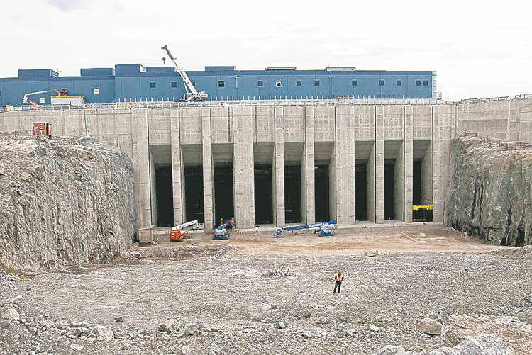 The Wuskwatim hydro generating station is expected to see increased costs.