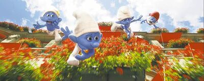SONY PICTURES ANIMATIONAt least you know what you�re getting in a Smurf movie: not much.