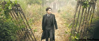 Daniel Radcliffe leaves his fame-making role in Harry Potter to star as Arthur Kipps in The Woman in Black. Courtesy of Alliance Films.