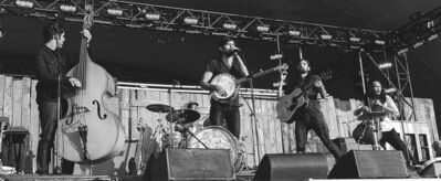 The Avett Brothers drew people up out of their seats around the Main Stage on Day 1 at the Winnipeg Folk Festival.