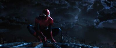 Andrew Garfield stars in 'The Amazing Spider-Man 2,' also staring Emma Stone.