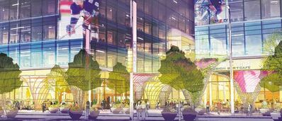 Downtown development agency CentreVenture plans to spend $8.3 million on upgrading downtown streetscapes, as envisioned in this drawing.