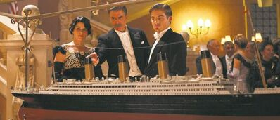 Neve Campbell, Chris Noth and Kevin Zegers star in Titanic: Blood and Steel, which premieres tonight on CBC.