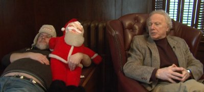 Doug and Creepy Santa