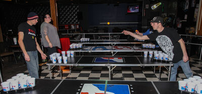 A group of locals are introducing competitive beer pong to Winnipeg, minus the beer. The Pegcitypongers meet at the St. Boniface Hotel every Sunday to play; there are even tournaments.