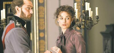 Married couple Law and Knightley.