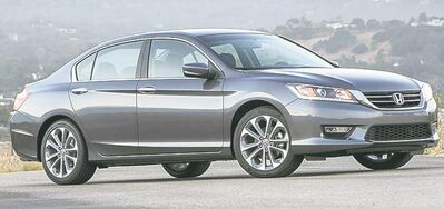 "The newly designed Accord is Honda's ""bread and butter"" car and could be the solution to the company's recent woes."