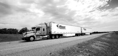 Handout photoNew harmonized rules mean long combination vehicles can travel through the Prairies without stopping to change axle groups. The trucks are now allowed on the Trans-Canada Highway east of Winnipeg on Fridays.