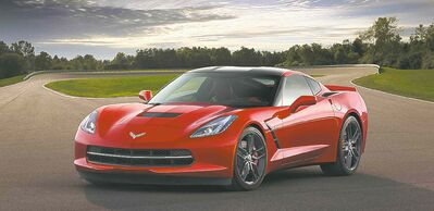 The 2014 Chevrolet Corvette Stingraywas chosen as the best new sports/performance car by members of AJAC.