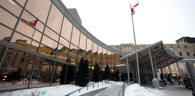 St. Boniface Hospital cancelled its surgeries after water flooded its operating rooms on Wednesday.