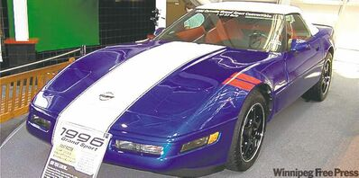 1996 Chevrolet Corvette Grand Sport convertible