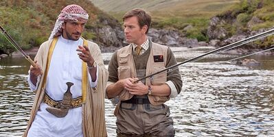 "Ewan McGregor is shown in an adaptation of Paul Torday's ""Salmon Fishing in the Yemen."" THE CANADIAN PRESS/AP, CBS Films"