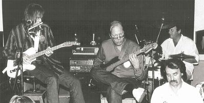 Neil Young reunites with his old Winnipeg band The Squires at the Blue Note on June 27, 1987.