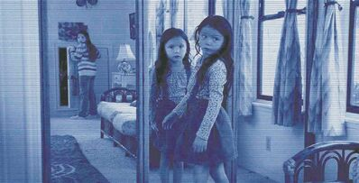 Paramount PicturesMirror mirror on the wall: The Paranormal Activity franchise moves to an apartment complex in Los Angeles for its fifth installment.