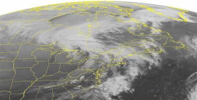 This NOAA satellite image was taken Monday, Nov. 18, 2013 at 1:45 a.m. EST. THE CANADIAN PRESS/AP, Weather Underground