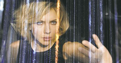 Universal pictures Scarlett Johansson as Lucy.