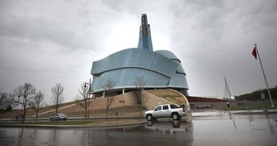 The Canadian Museum for Human Rights building in Winnipeg.