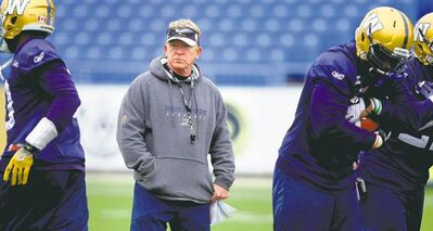 Phil Hossack / Winnipeg Free Press archives Winnipeg Blue Bombers interim head coach Tim Burke was handed a 'sinking ship' when the team fired former bench boss Paul LaPolice, one reader writes.