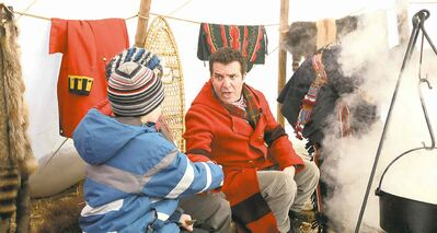 CBC�s Rick Mercer spent the day at the Festival, sampling some pea soup and... leg wrestling.
