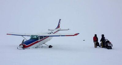 A1973 Cessna 207 was put down by the pilot right after takeoff.