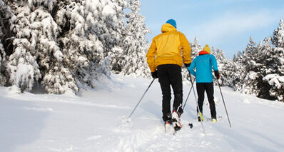 Cross-country skiing is a great activity for any age. It is a life-long sport that is easy on the joints.