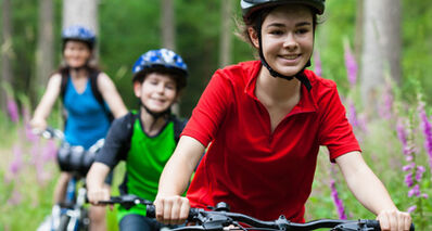 Summer is a good time to get kids into active transportation.
