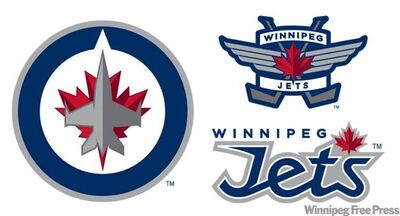 The Winnipeg Jets unveiled their new logo Friday afternoon.