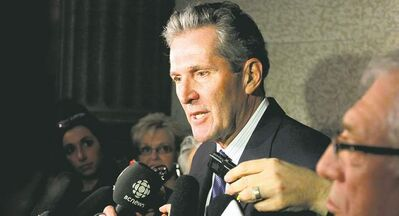 Opposition Leader Brian Pallister is not happy with the NDP budget and says, if elected, he would increase the rental  allowance for social-assistance recipients to 75 per cent of the median market rent.