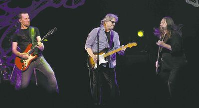 The Steve Miller Band performs at the MTS Centre Friday evening.