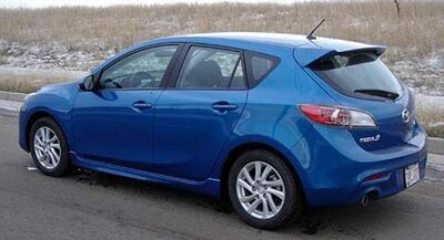 The man's vehicle, a 2012 blue Mazda3 GS Sky with Manitoba licence plate number GTX 310, has not yet been recovered.