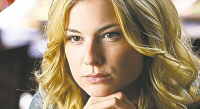 Undated handout photo from the TV series REVENGE