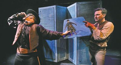 The cast members are the real heroes of Mark of Zorro.