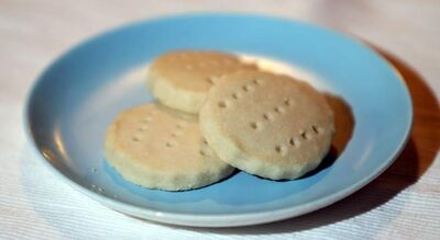 Simply the best shortbread cookies