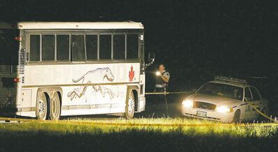 John Woods / The Canadian Press archivesVince Li beheaded and cannibalized fellow bus passenger Tim McLean on July 30, 2008, near Portage la Prairie.