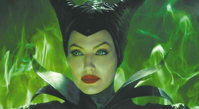 "Disney's ""Maleficent"": Maleficent (Angelina Jolie)."