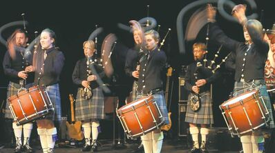 The St. Andrew's Society of Winnipeg Pipe Band gets Doug Speirs' blood boiling every time.