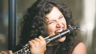 Cohen showcases her versatility  as an  instrumentalist  and in her choice of musical styles on Claroscuro.