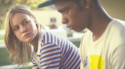 There's a lot  of pain and a little bit of tragedy  in Short Term 12, which stars Brie Larson (left).