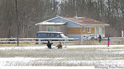 Many residents of Lake St. Martin First Nation say flooding and mould leave them no choice but to find higher ground.