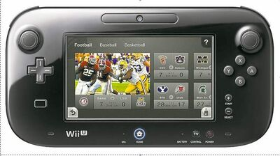 Nintendo's new Wii U controller. The company's TVii service transforms it into a tool for accessing TV, Internet features.
