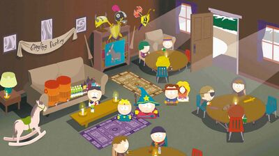 South Park creators Trey Parker and Matt Stone put their stamp on old-school-style video game.