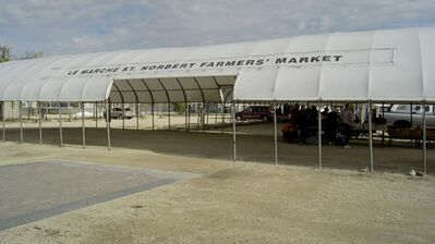 The St. Norbert Farmers' Market was designated by the Province of Manitoba as a Star Celebration on Sept. 30.
