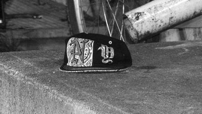 A baseball cap lies near a crime scene in the North End.