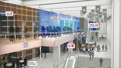supplied imageTrue North is spending upwards of $20 million to renovate the third floor of the MTS Centre.