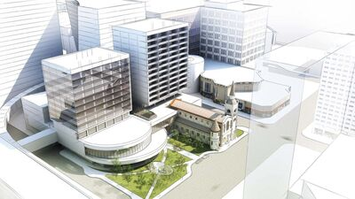 SUPPLIED</p><p>St. Mary&rsquo;s Cathedral redevelopment rendering.</p>