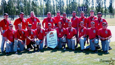 The Elmwood Giants won the 2012 provincial title and are getting ready to host this year's Western Canada Senior AA Championship.